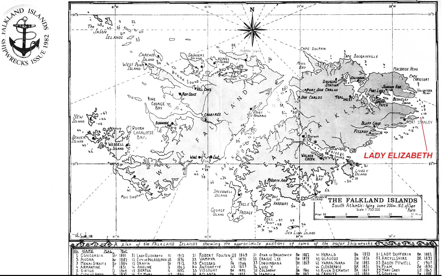 Image Result For Falkland Islands Map